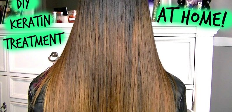 Tips on applying the keratin treatment