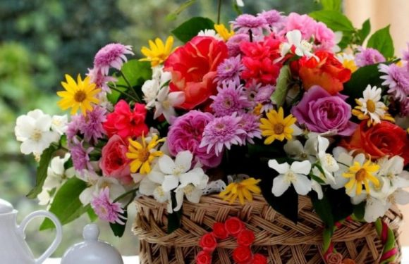 Types Of Floral Arrangements